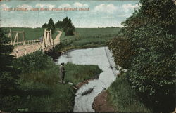 Trout Fishing, Dunk River, Prince Edward Island
