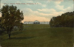 Col J. J. Astor's Tennis House