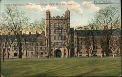 Yale College - Phelp's Hall and Gateway