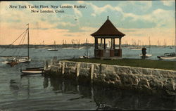 New York Yacht Fleet, New London Harbor