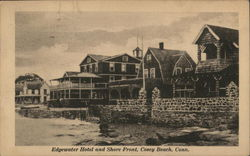 Edgewater Hotel and Shore Front, Cosey Beach