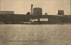 Government Lighthouse and Faulkner's Island