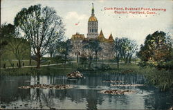 Duck Pond, Bushnell Pond showing Capitol
