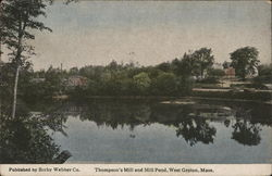 Thompson's Mill and Mill Pond
