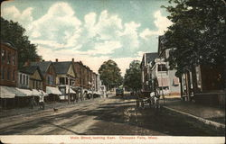 Main Street, Looking East Postcard