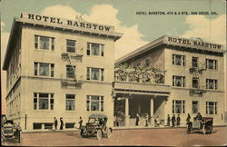 Hotel Barstow, 4th & A Sts.
