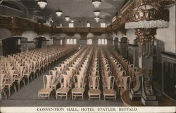 Convention Hall, Hotel Statler