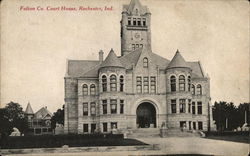 Fulton Co. Court House Postcard
