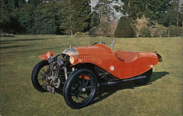 1927 Morgan Aero Sports Three-Wheeler Cars Motorcycles
