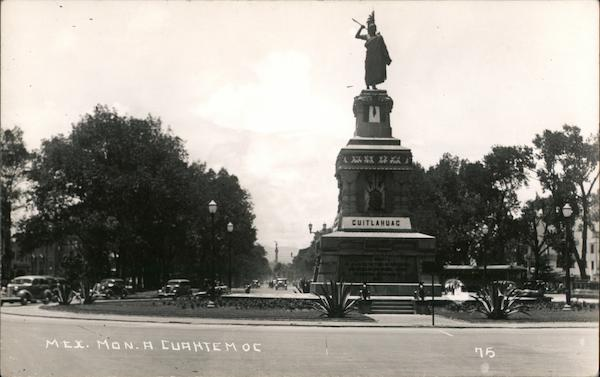 Mexican Monument to Cuahtemoc Mexico