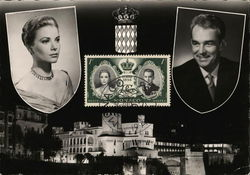 Monaco - Princess Grace Kelly and Prince Rainier III