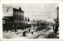 Laying RR Track on Broadway