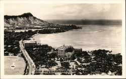 Royal Hawaiian and Moana Hotels, on the Beach at Waikiki