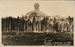 Mt. Lassen in Eruption in 1914
