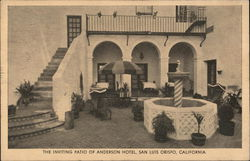 The Inviting Patio of Anderson Hotel