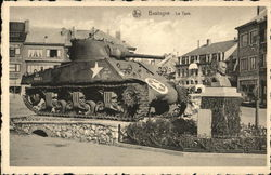 Tank in Town Square