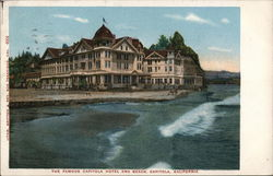 The Famous Capitola Hotel and Beach