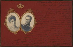 Portraits of Royal Couple of Belgium