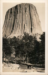 Devil's Tower, North Eastern Wyoming Postcard