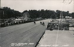 Most Popular Fair on Earth - Hillsdale County Fair Postcard