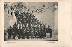 Marching Band Postcard