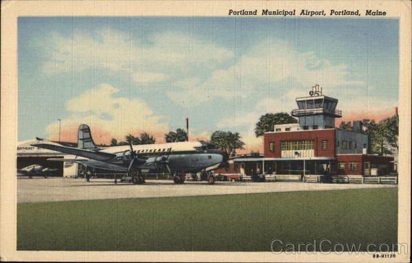 Portland Municipal Airport Maine Airports