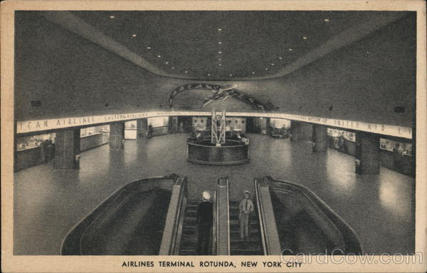 Airlines Terminal Rotunda New York City