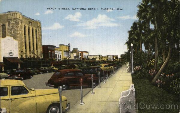 Beach Street Daytona Beach Florida