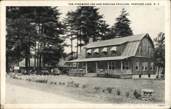The Pinewood Inn and Dancing Pavilion Panther Lake New York