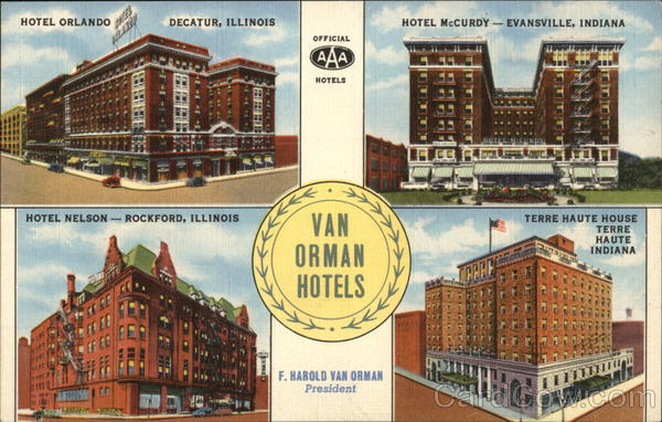 Van Orman Hotels Decatur Illinois