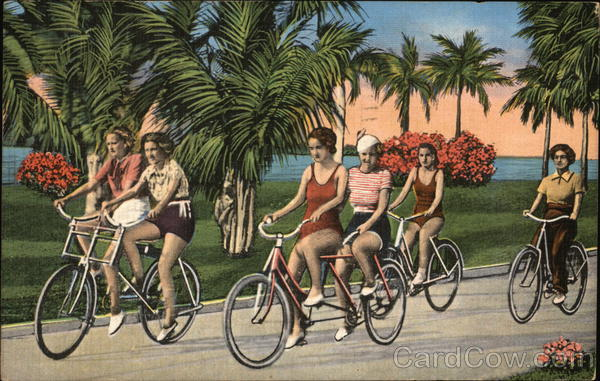 A Popular Pastime Palm Beach Florida Bicycles