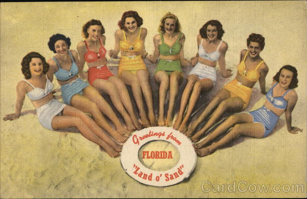 Greetings from Florida Swimsuits & Pinup