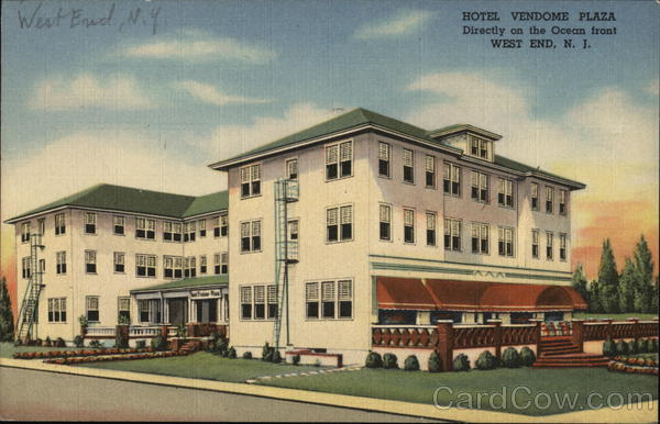 Hotel Vendome Plaza West End New Jersey