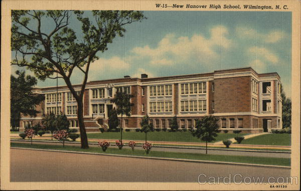 New Hanover High School Wilmington North Carolina