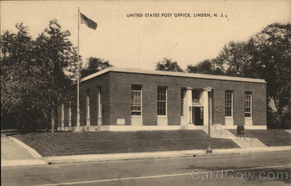 Linden (NJ) United States  city images : United States Post Office Linden New Jersey