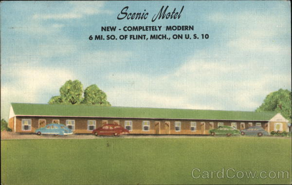 Scenic Motel, New - Completely Modern Flint Michigan