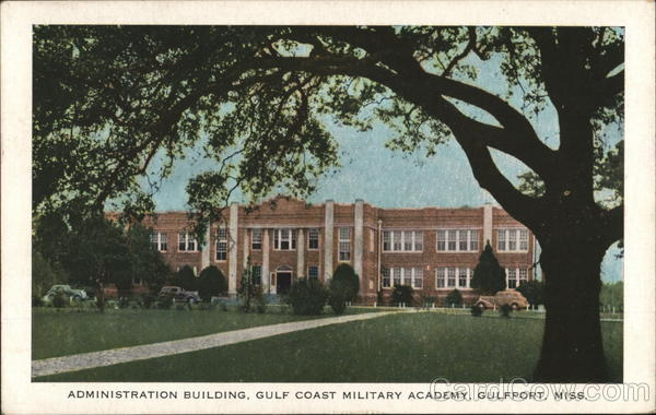 Administration Building, Gulf Coast Military Academy Gulfport Mississippi