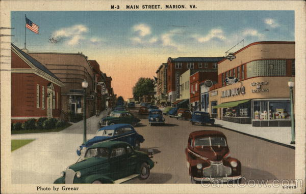 Main Street Marion Virginia