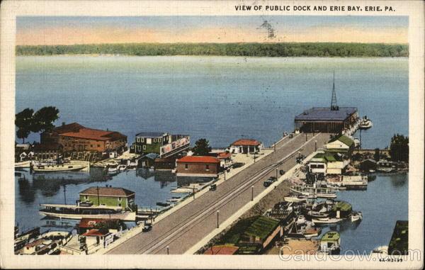 Public Dock Erie, PA