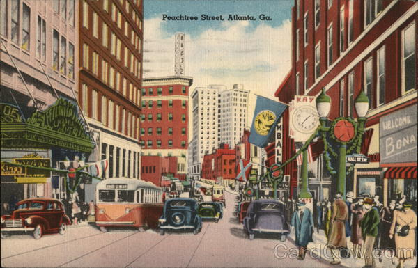 Peachtree Street Atlanta Georgia