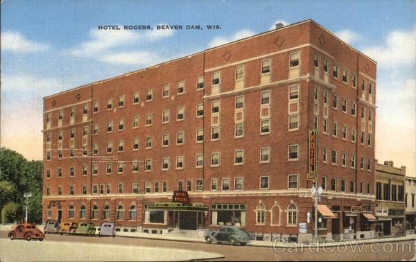 Hotel Rogers Beaver Dam Wisconsin
