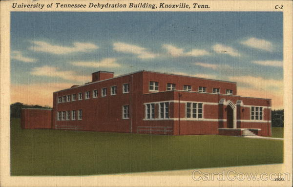 University of Tennessee Dehydration Building Knoxville