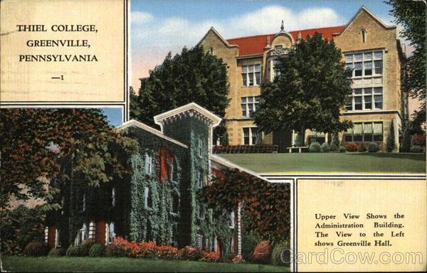 Thiel Cottage Greenville Pennsylvania