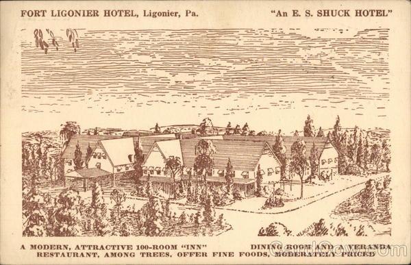 Fort Ligonier Hotel Pennsylvania