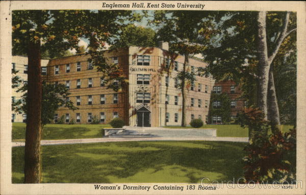 Kent State University - Engleman Hall, Womens Dormitory Ohio