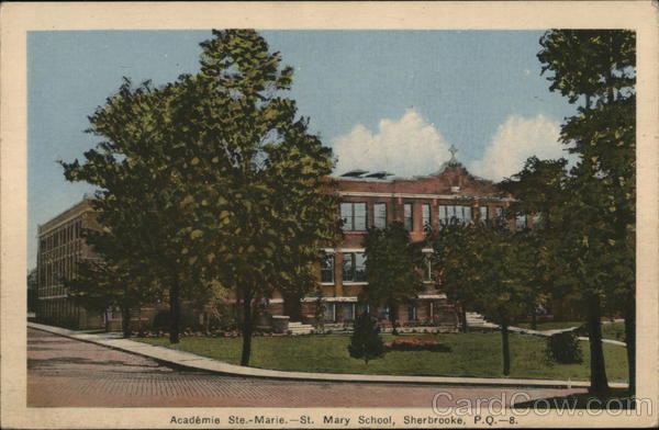 St. Mary School Sherbrooke Canada Quebec