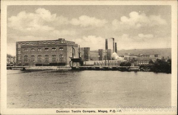 Dominion Textile Company Magog QC Canada Quebec