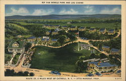 Rip Van Winkle Park and Log Cabins