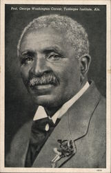 Prof. George Washington Carver, Tuskegee Institute