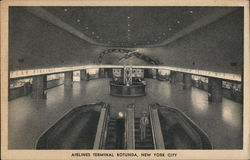 Airlines Terminal Rotunda